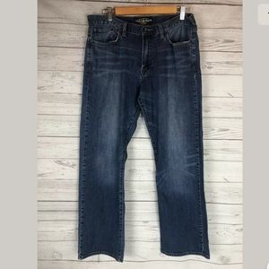 Lucky brand men's vintage straight jeans 34x30